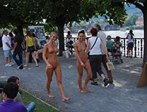 Crazy Girls Nude In Public 8