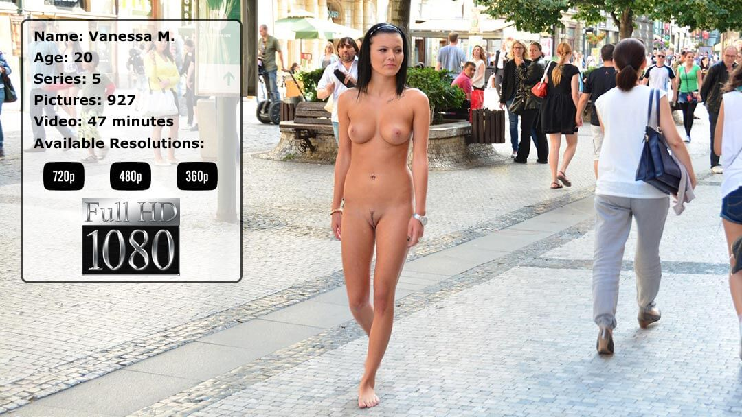 Vanessa Naked Girl In Prague